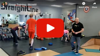 Video of Functional Fitness Group Workout at StraightLine Fitness