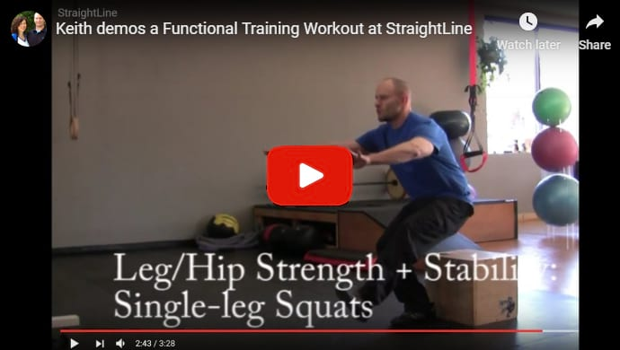 Functional Fitness Workout Demo Video